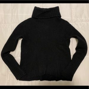 Anthropologie MOTH Black Sweater